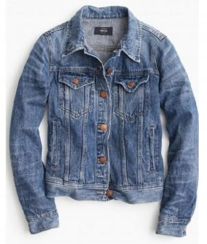 Jessica Capshaw Holidate Abby Denim Jacket