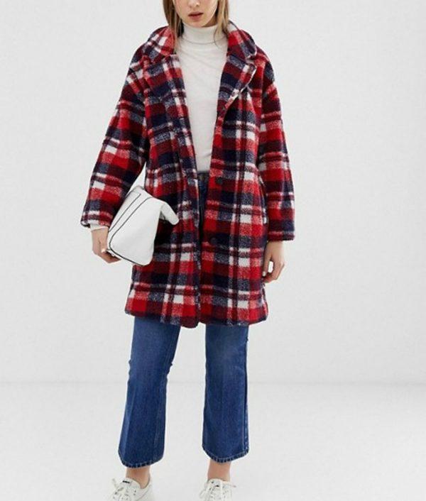 Ida Elise Broch Home For Christmas Johanne Wool-Blend Jacket