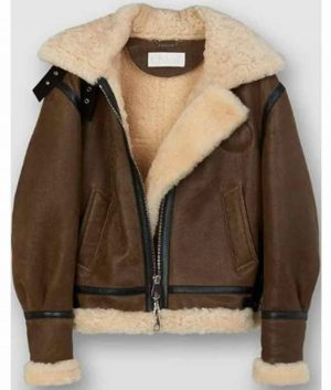 I Hate Suzie Billie Piper Sheepskin Leather Jacket