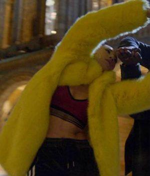 Ina Wroldsen Jax Jones Breathe Fur Coat