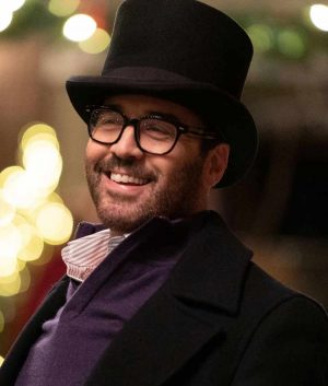 My dad's Christmas Date Jeremy Piven Coat