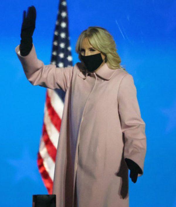 Jill Biden's Pink Coat