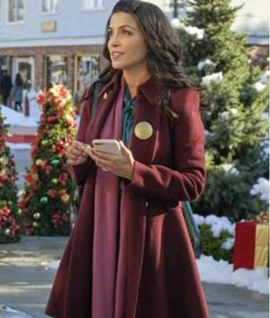 Kendra Adams The Christmas Ring Nazneen Contractor Coat