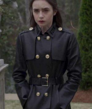Lauren Monroe Inheritance Leather Coat