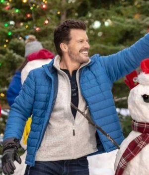 Meet Me at Christmas Beau Blue Jacket