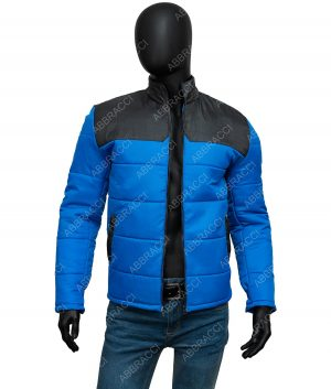 Micheal Ward Top Boy Season 03 Blue Jamie Jacket