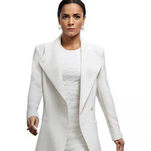 Teresa Mendoza Queen of The South Alice Braga White Trench Coat