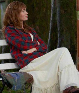 Wild Mountain Thyme Emily Blunt Checked Jacket