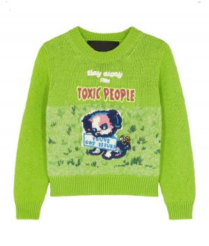Stay Away From Toxic People Harry Styles Sweater