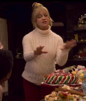 Goldie Hawn The Christmas Chronicles 2 Sweater