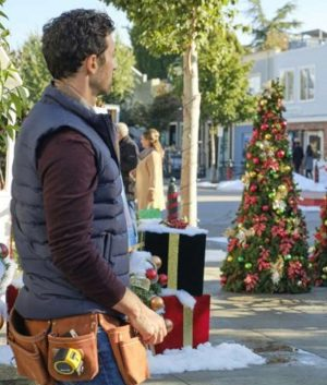 Michael The Christmas Ring David Alpay Puffer Vest