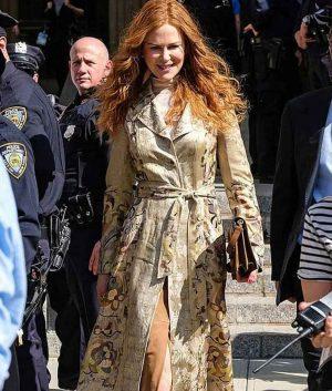 Floral Nicole Kidman Coat