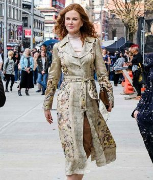 The Undoing Floral Nicole Kidman Coat