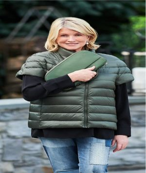 martha stewart short sleeve jacket
