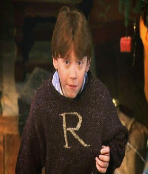 Harry Potter Christmas Special Ron Weasley Red Sweater