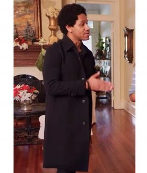 A Christmas Surprise Amiri Trench Coat