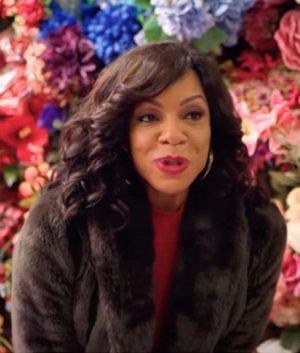 Wendy Raquel Robinson A Christmas Surprise Tanya Brown Fur Coat