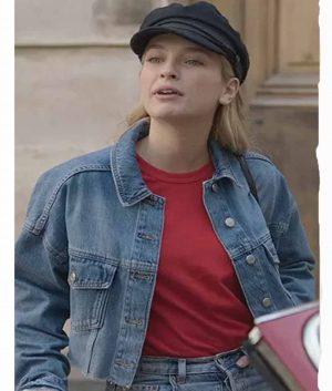 Emily In Paris Camille Razat Cropped Jacket