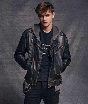 Gabriel Guevara HIT 2020 Darío Motorcycle Leather Jacket