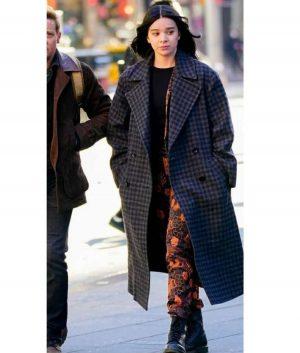 Hawkeye Kate Bishop Checkered Long Coat