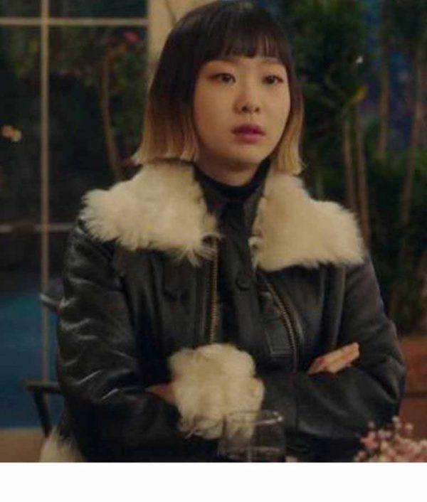 Itaewon Class Kim Da-Mi Leather Jacket