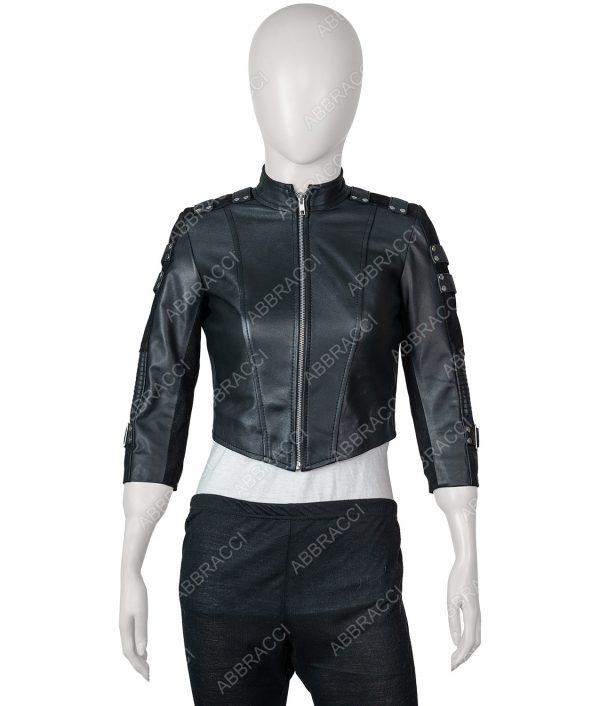 Katie Cassidy Arrow Black Canary Jacket