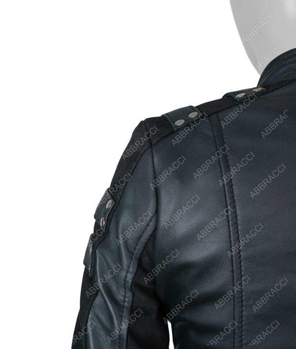 Katie Cassidy Arrow Season 2 Katie Cassidy Leather Jacket