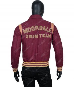 Lawrence M Logo Varsity Jacket
