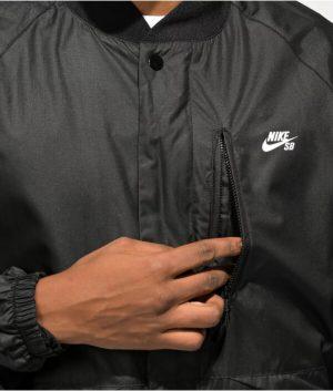 Nike SB Bomber Black Jacket