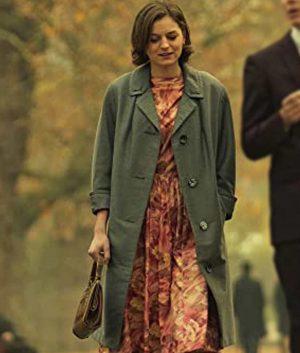 Esme Winikus Pennyworth Emma Corrin Grey Coat