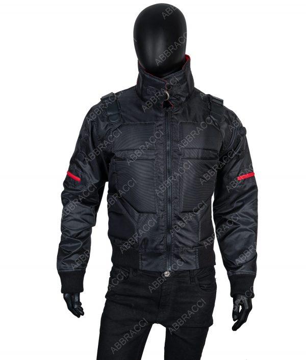 Raphael Black Bomber Jacket