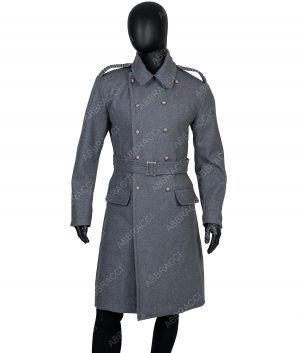 Shepherd Double-breasted Grey Coat