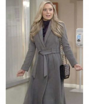 The Young and the Restless Abby Newman Coat (1)