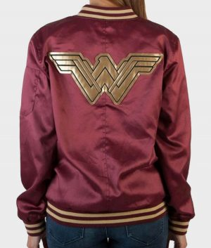Wonder Woman Varsity Jacket