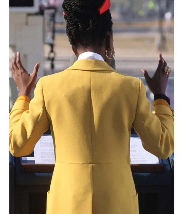 Amanda Gorman Yellow Jacket