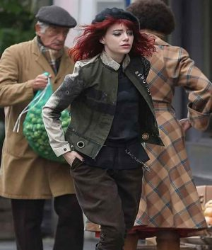Cruella Emma Stone Cotton Jacket