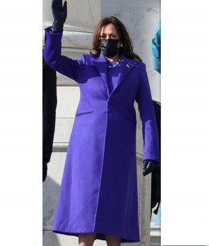 Kamala Harris Purple Jacket