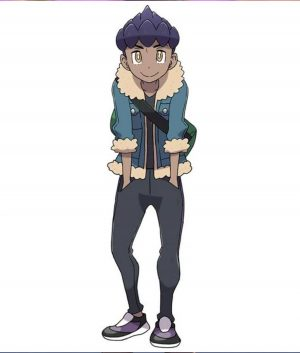 Pokemon Sword and Shield Hop Jacket With Shearling Trim