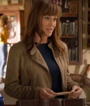 Sweet Autumn Nikki Deloach Cafe Racer Leather Jacket