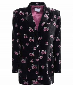 The Duchess Katherine Velvet Blazer