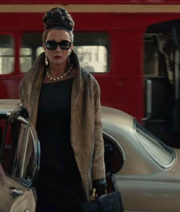 Cruella 2021 Baroness Golden Tailcoat