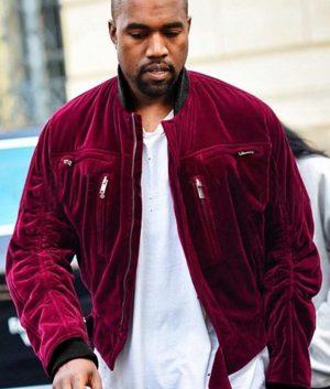 Red Velvet Kanye West Jacket