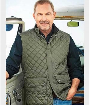 Yellowstone John Dutton Green Vest