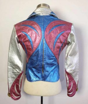 Girlboss Britt Robertson East West Leather Jacket