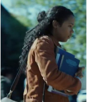 Taylor Russell Escape Room Movie Women Casual Cotton Jacket