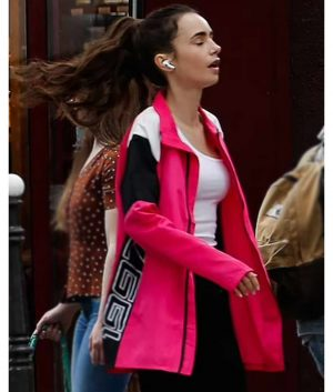 Emily in Paris S02 Lily Cooper Pink Jacket