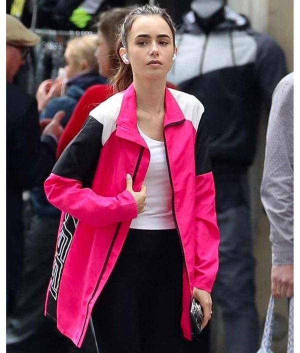 Emily in Paris 02 Lily Cooper Pink Jacket