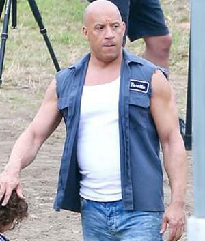 F9 Dominic Toretto Men Vest
