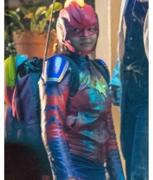 Ms. Marvel 2021 Kamala Khan Leather Jacket