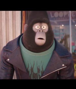 SING 2 Taron Egerton Leather Jacket